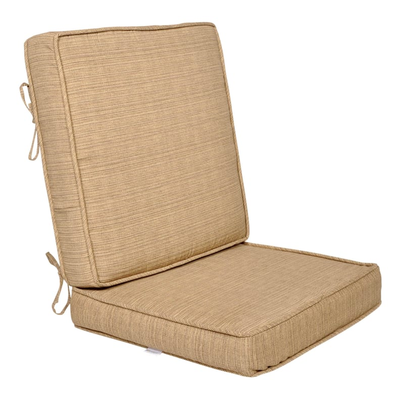 Tallon Birch Outdoor Deep Seat 2-Piece Cushion