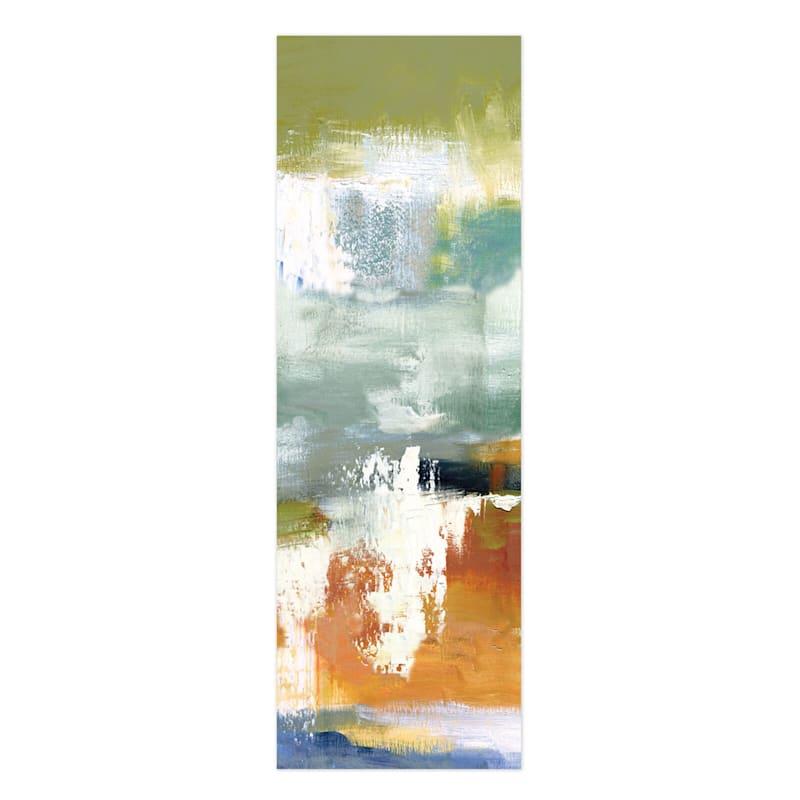 24X72 Abstract Drip Canvas Wall Art