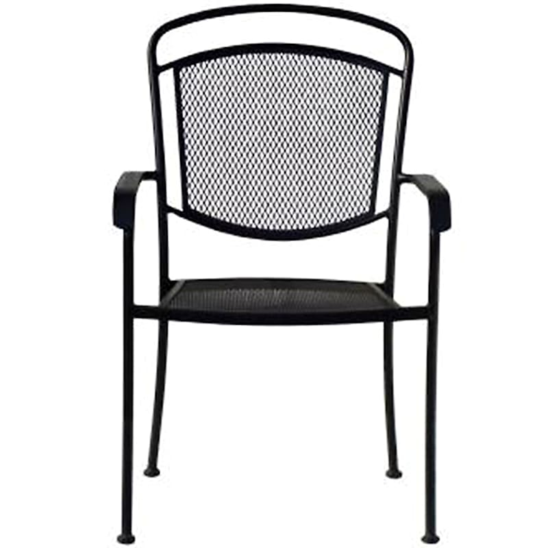 Steel Wrought Iron Outdoor Chair