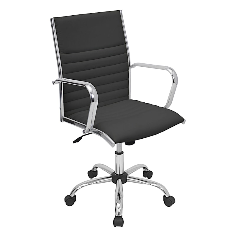 Master Black Contemporary Adjustable Office Chair