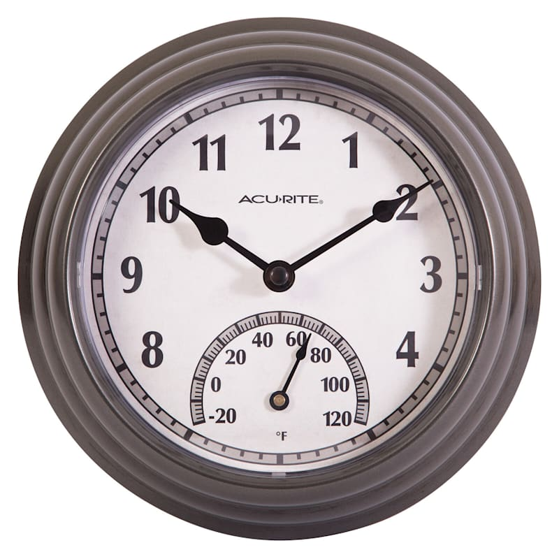 Acurite Indoor/Outdoor Clock/Thermometer