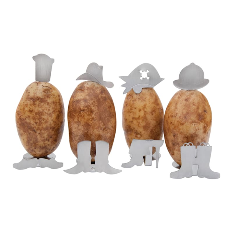 Potato People Grillers - Set of 4