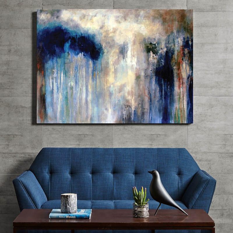 60X30 Night Glance Canvas Art