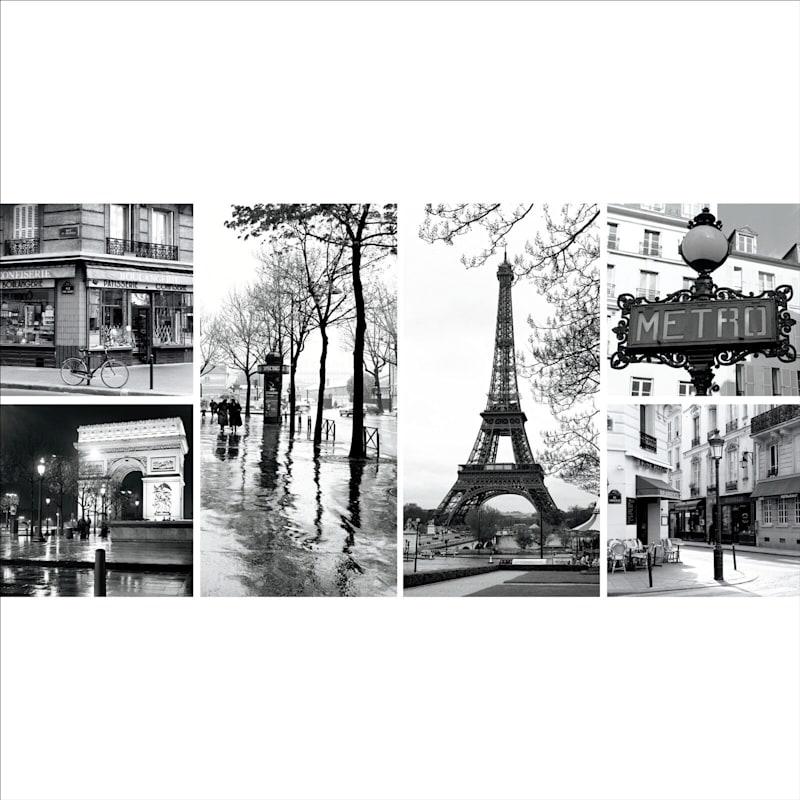 6-Piece European Sites Canvas Art Set