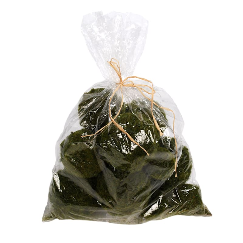 9-Piece Moss Ball In Polybag