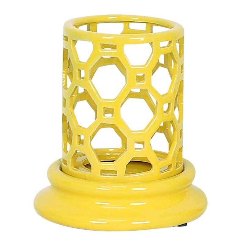 5X6 Yellow Candleholder
