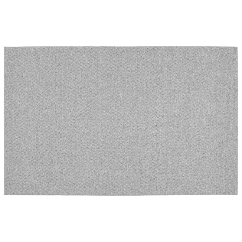 (D169) Town Square Scatter Rug Silver, 2x4