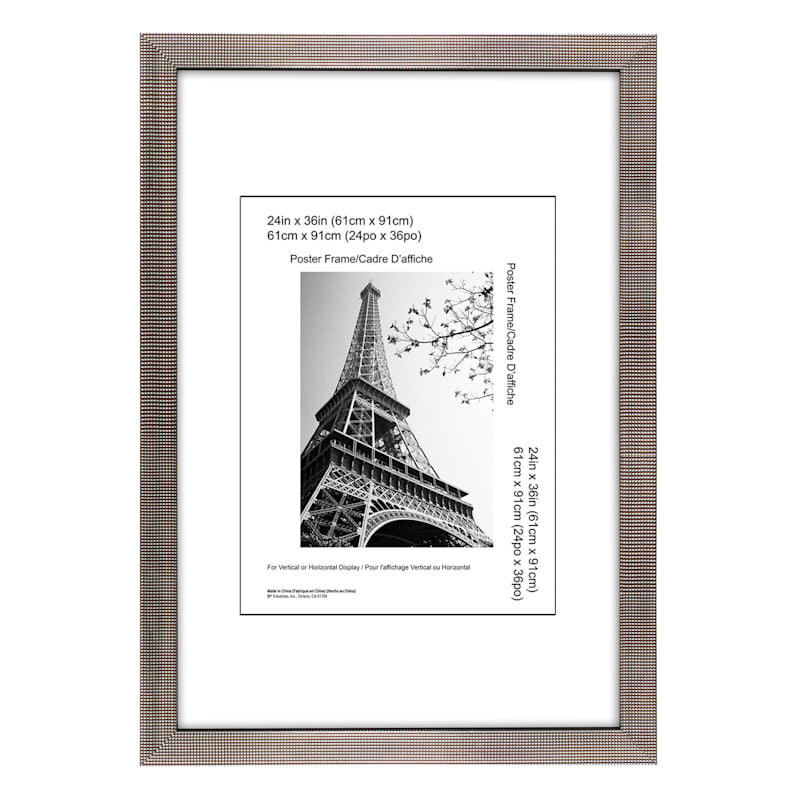 24X36 Dotty Champagne Poster Frame