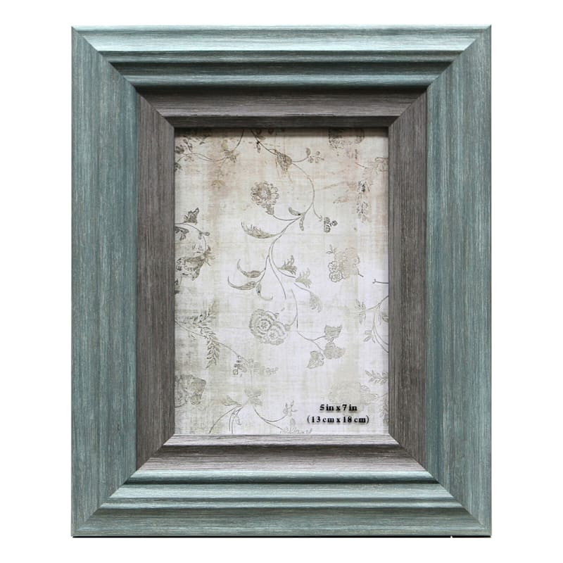 5X7 Miranda Light Turquoise Tabletop Frame