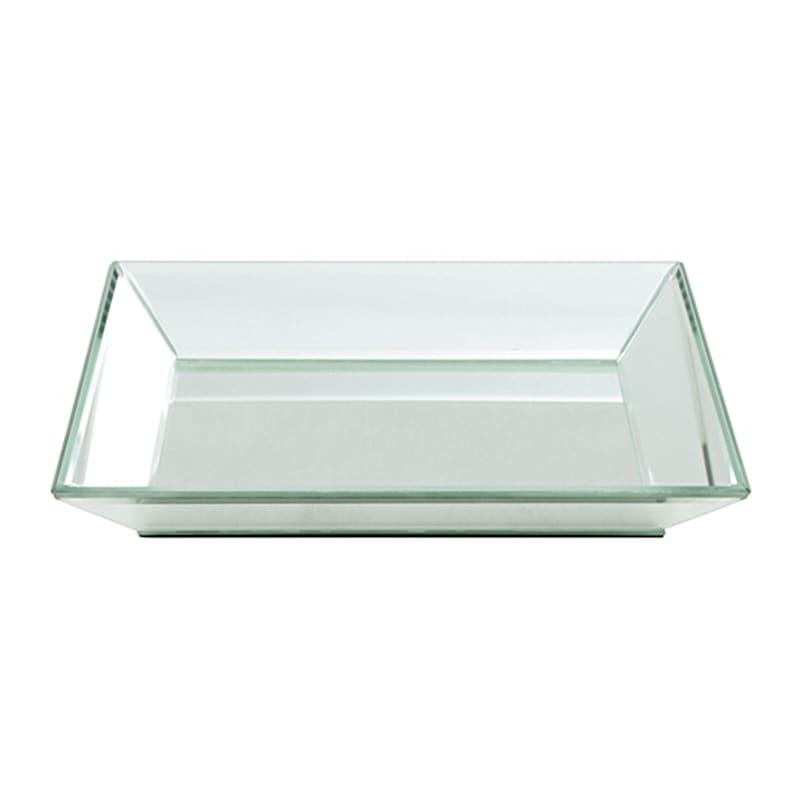 12X9 Silver Mirror Tray