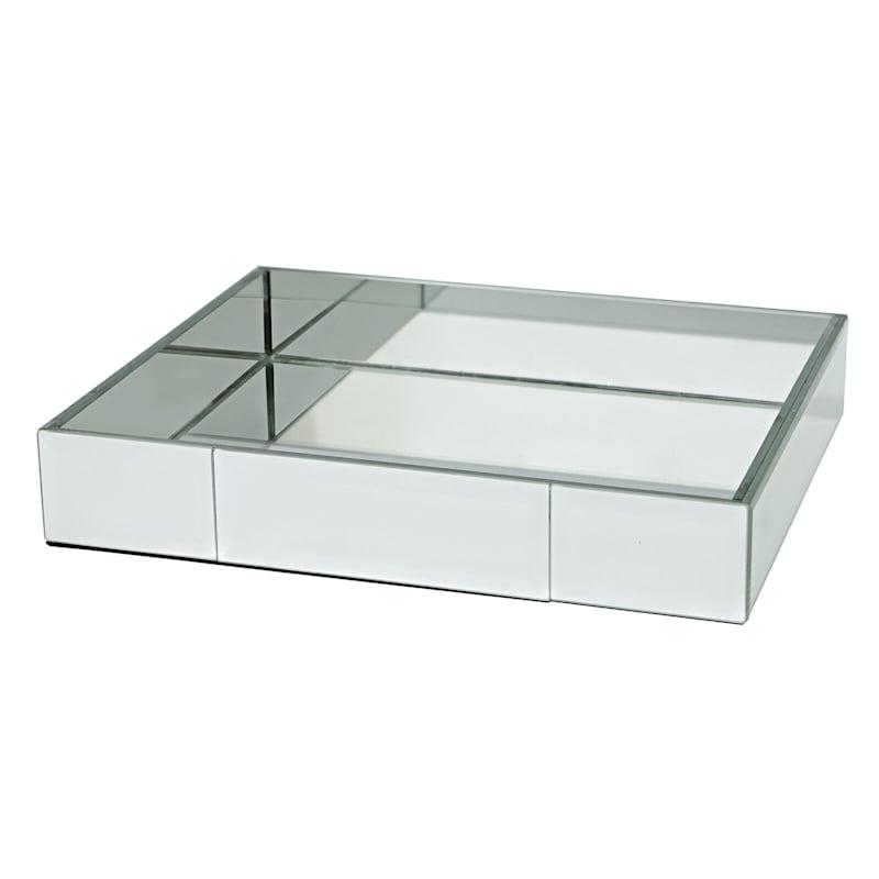 11X9 Mirrored Rectangular Tray