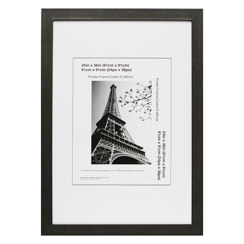 24X36 Dotty Pewter Poster Frame