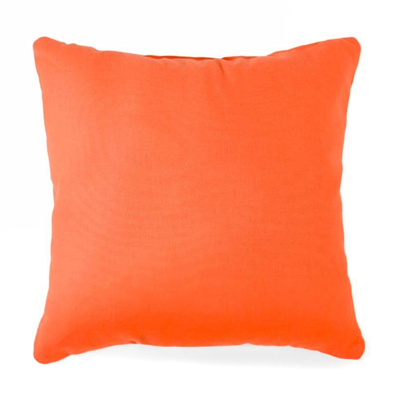Orange Solid Color Pillow 25X25