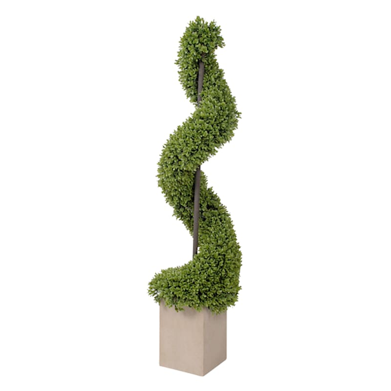 51in. Boxwood Spiral Topiary