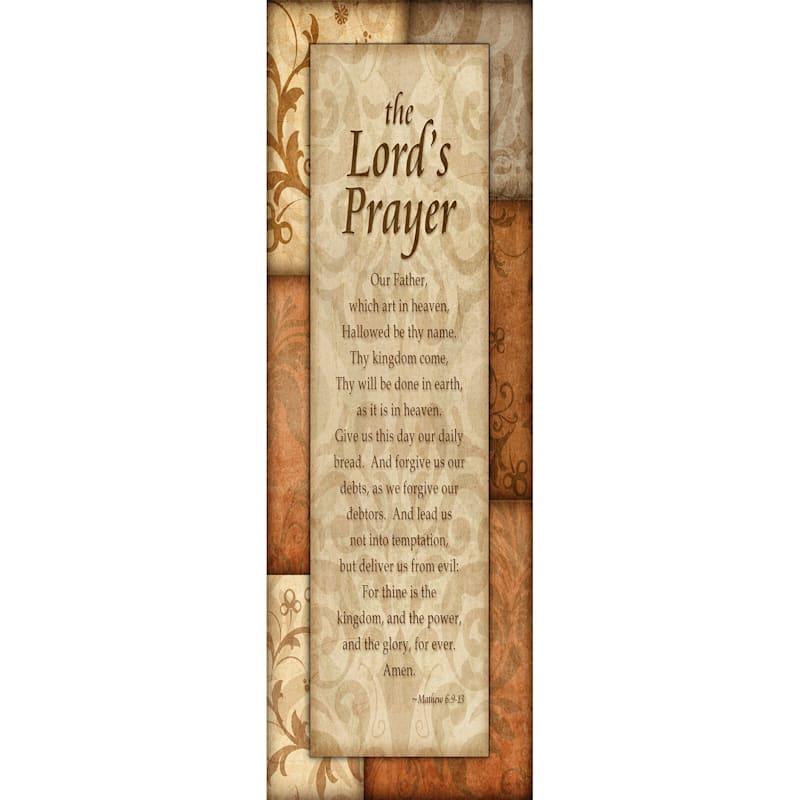 12 X 36-in Faith Prayer Studio Art