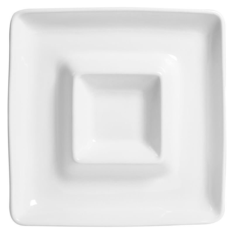 Blanc De Blanc Square Chip/Dip