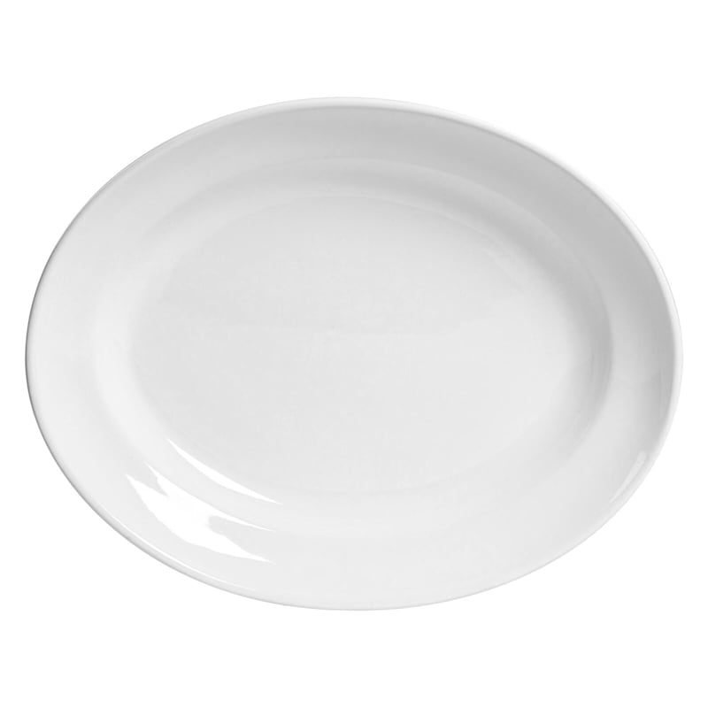 Blanc De Blanc Oval Serve Platter