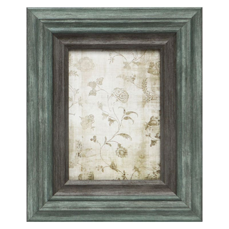5X7 Miranda Light Turquoise Wall Frame
