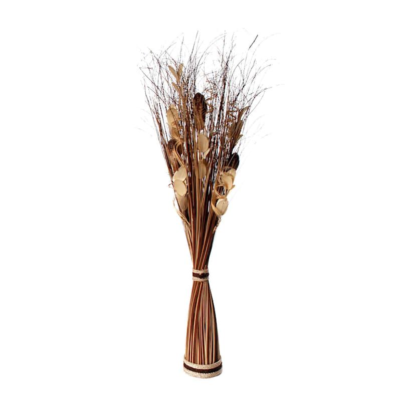 Dried Bundle Arrangement Br/Natural 40