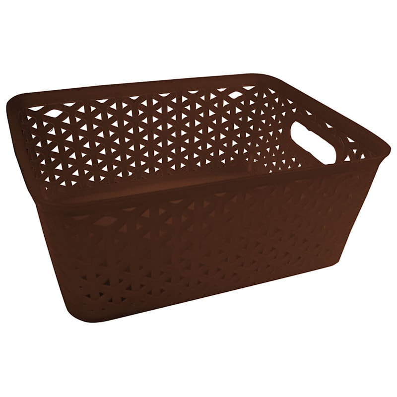 Brown 4 Section Basket