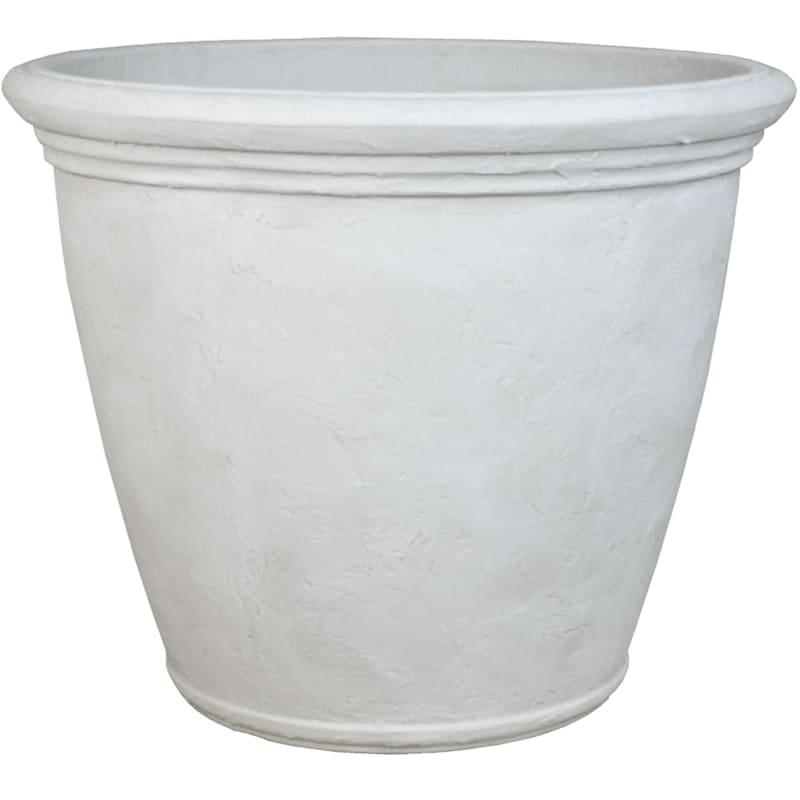 Kiri 24in. Decorative Planter Antique White