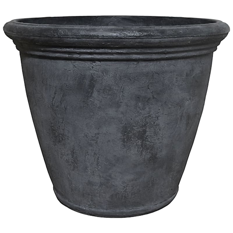 Kiri 24in. Decorative Planter Slate