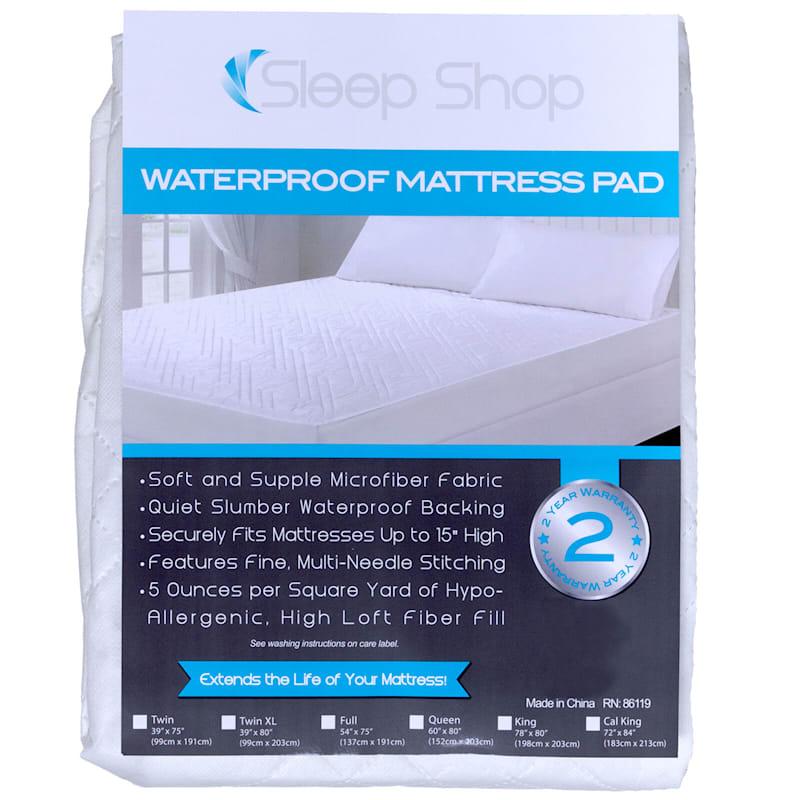 Sleep Shop Classic Mattress Pad Full