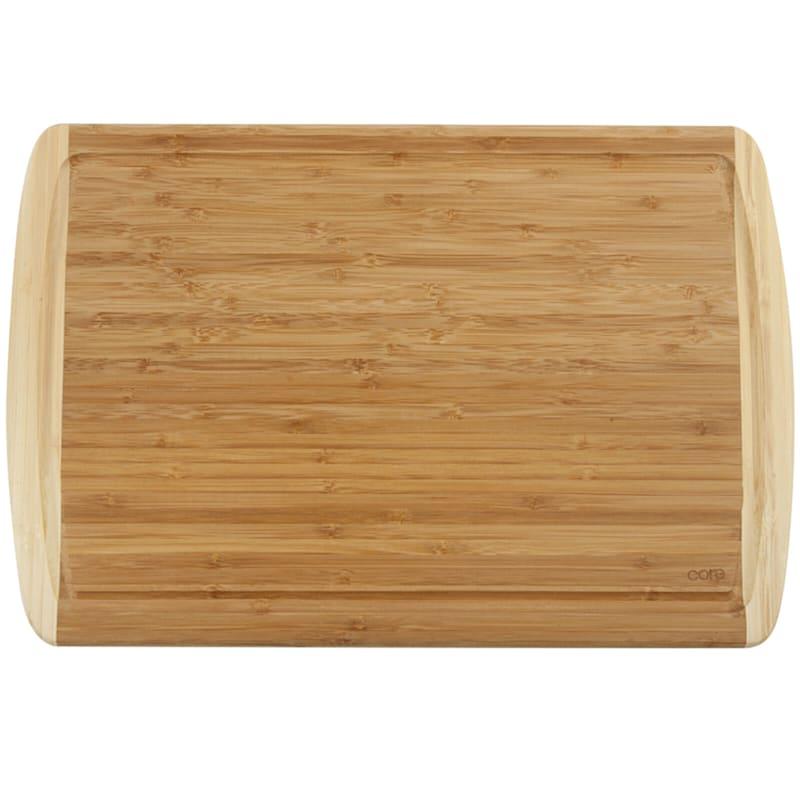 18X12 Bamboo Bd W/Trench Cutting Board