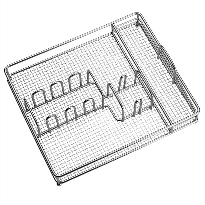 45-Piece Hoopla Flatware Set/Caddy