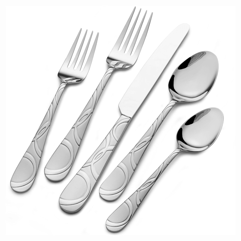 18-Piece Garland Frost Flatware Set
