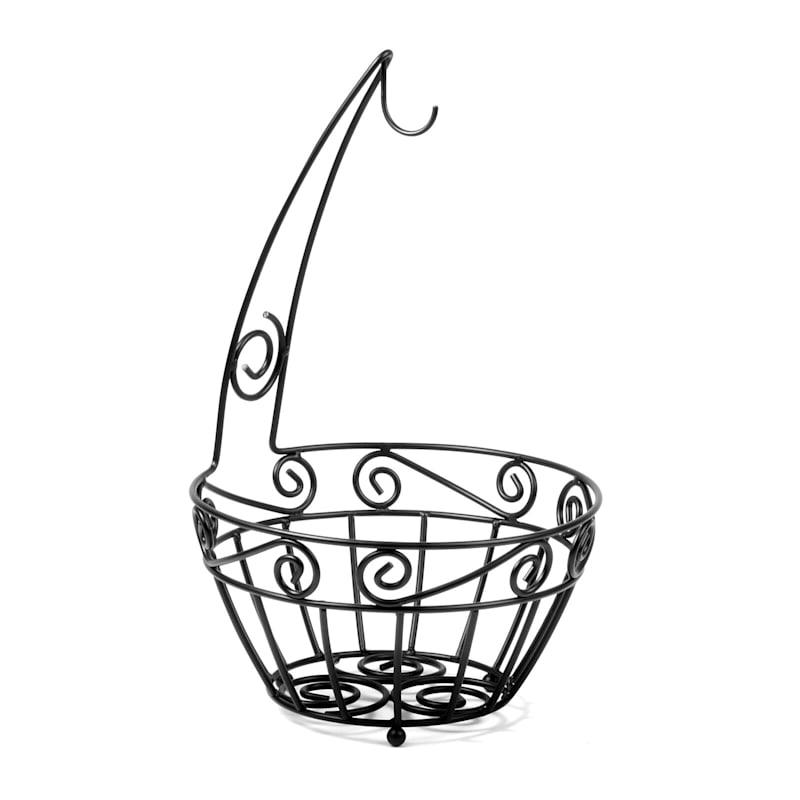 Scroll Fruit Tree Basket
