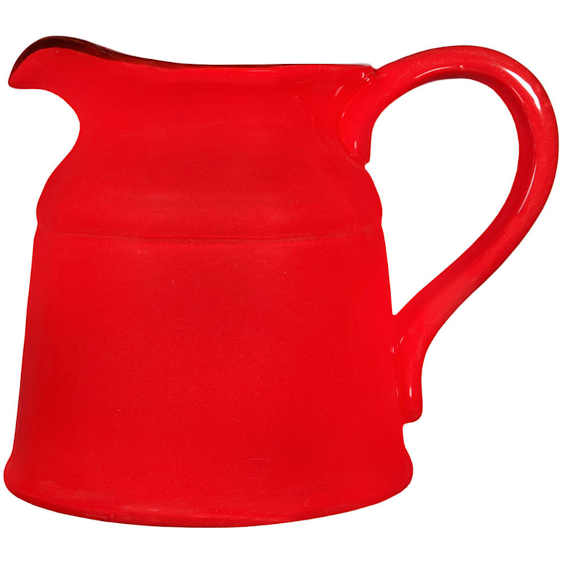 8in. Red Turino Pitcher