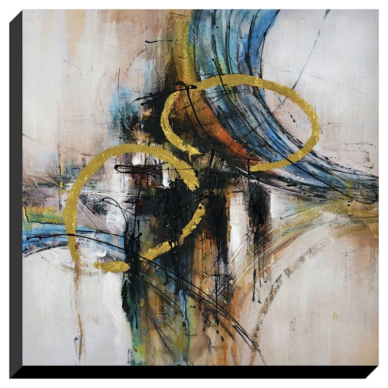30X30 Abstract Enhanced Canvas