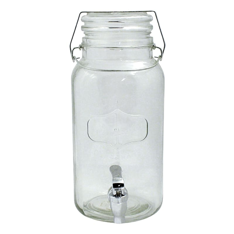 1 Gallon Lancaster Drink Dispenser/Hermetic Glass Lid
