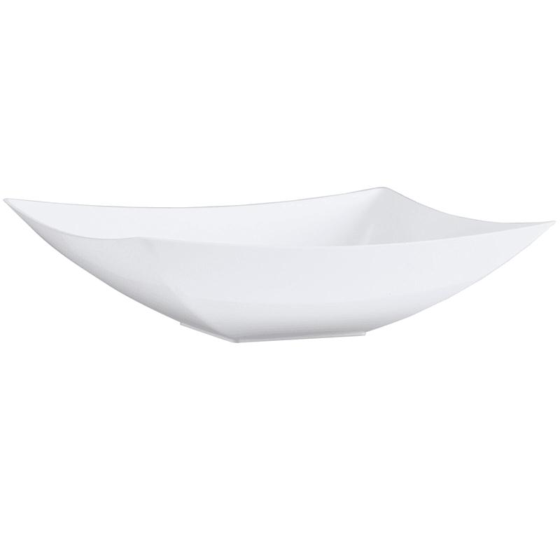 Pearl 128oz Rectangle Plastic Bowls Lillian Table Settings