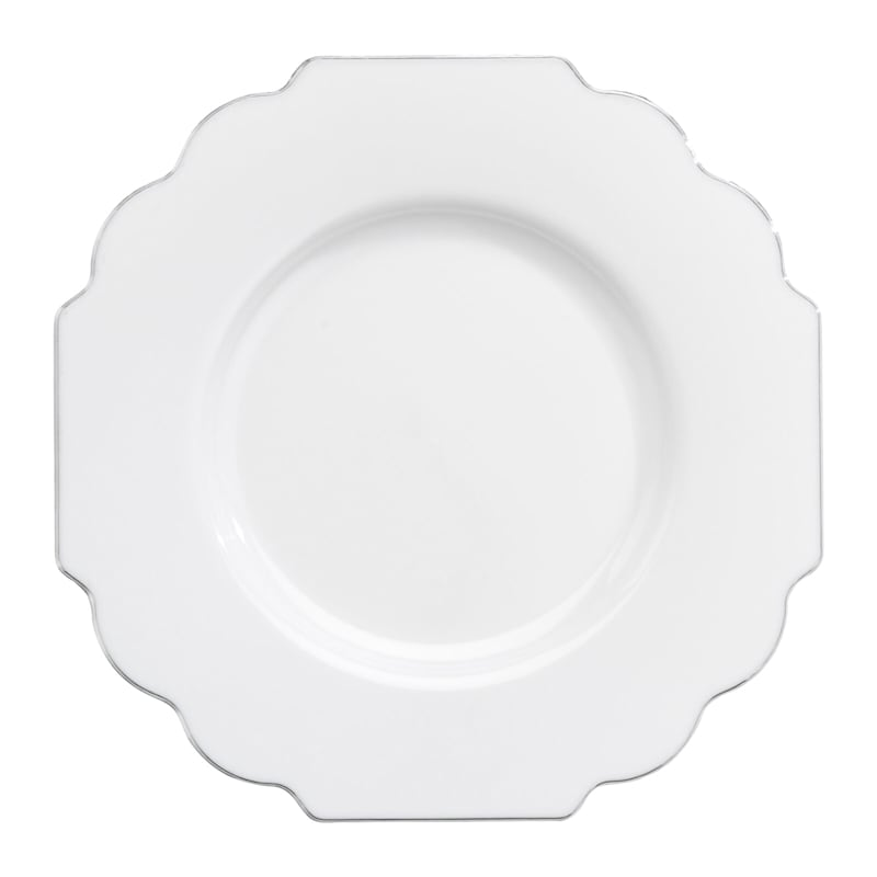 Set Of 10 Baroque Salad Plates