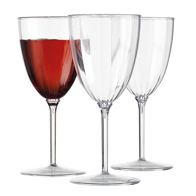10oz Optic Wine Glasses Set Of 12