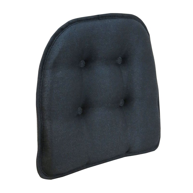 Embrace Black Gripper Chair Pad/Non Skid Material
