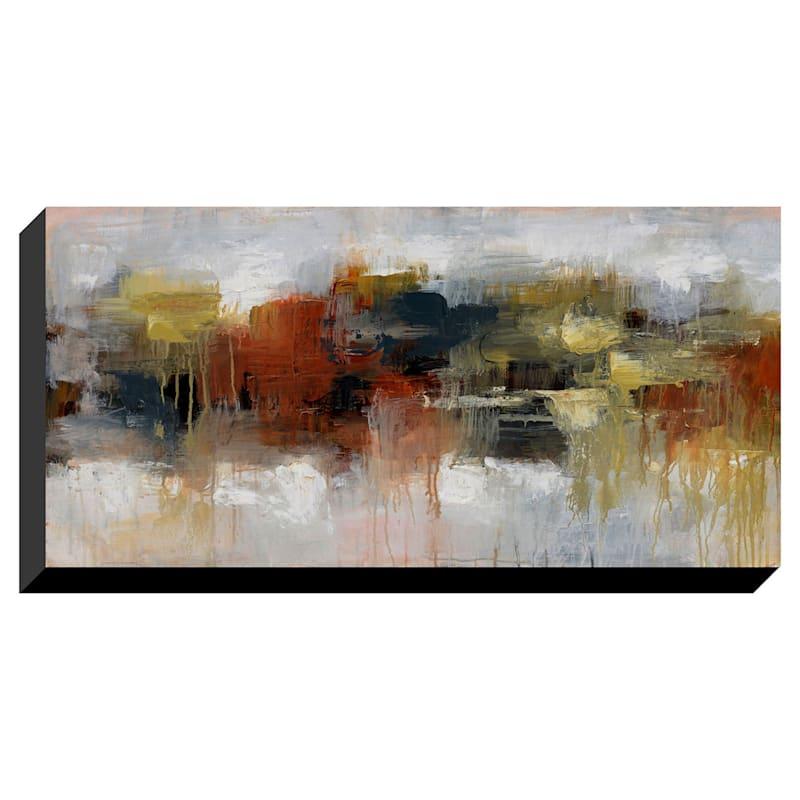 27X55 Abstract Enhanced Canvas