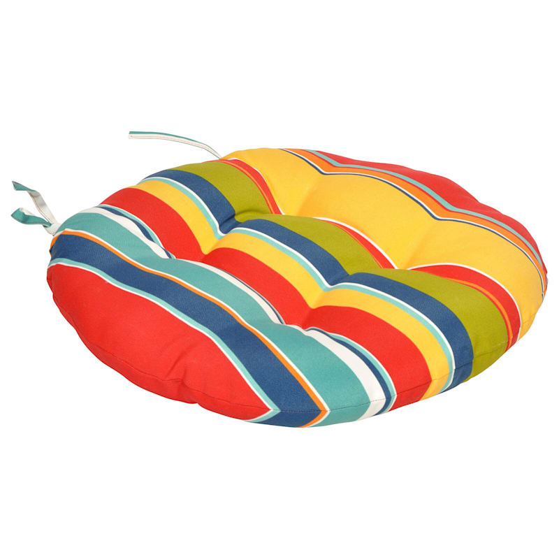Macrae Garden Outdoor Round Seat Cushion