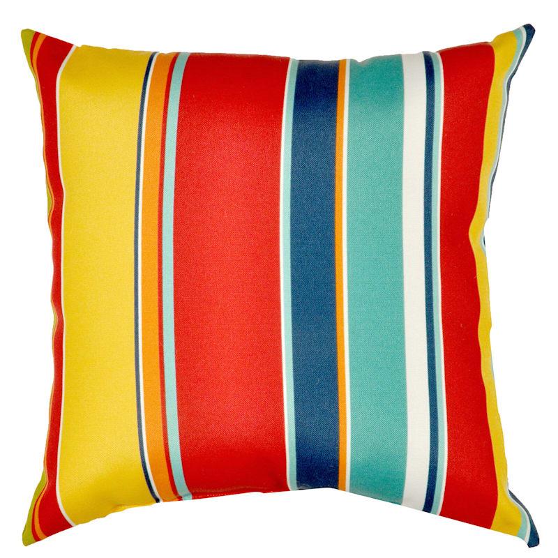 """Macrae Garden Outdoor Square Pillow, 20"""""""