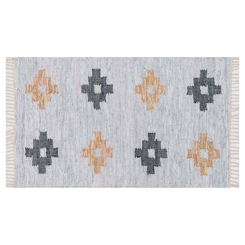 Shawman Tribal Ivory & Multi Area Rug, 3x5