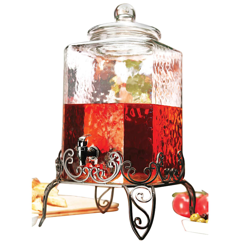 5 Gallon Verona Drink Dispenser On Metal Stand