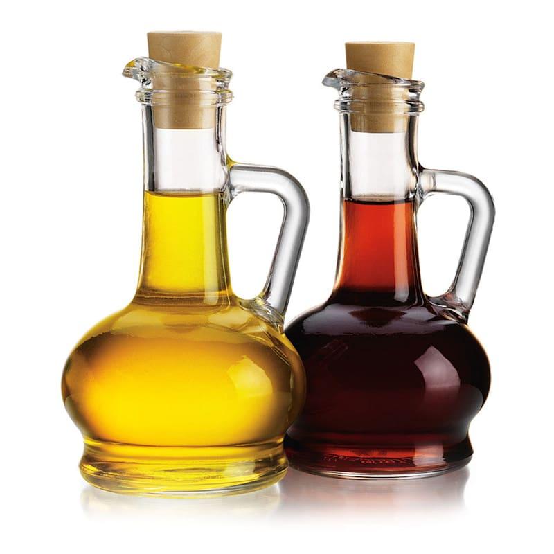 8oz Hobnail Oil/Vinegar Set