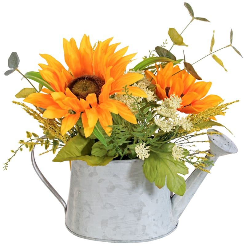 14 SUNFLOWER INWATERING CAN