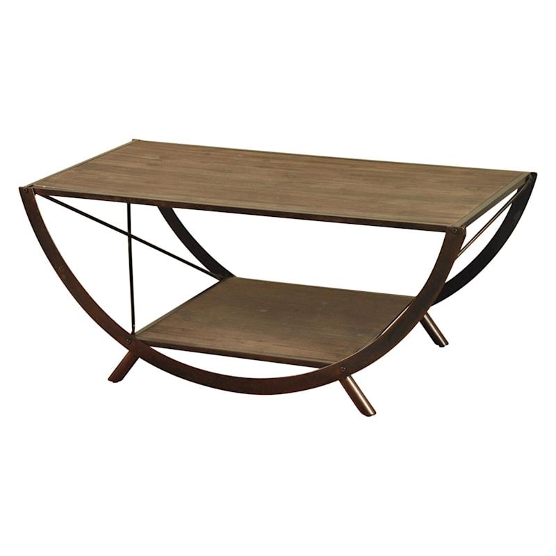 Santa Monica Wooden Coffee Table