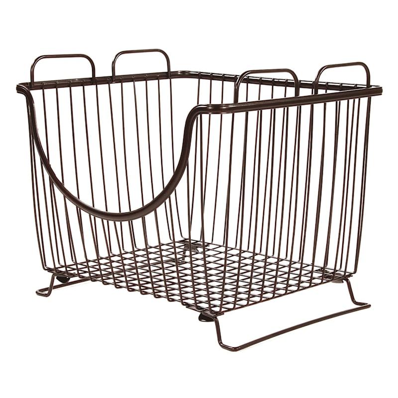 Ashley Stack Basket Large Bronze
