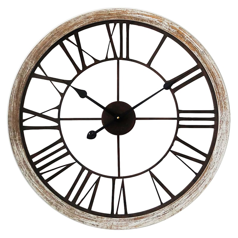 24in. Round Wall Clock