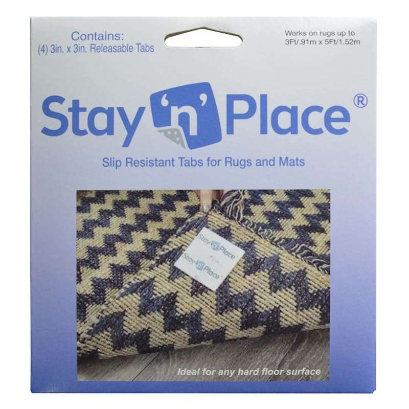 STAY  N  PLACE RUG TABS