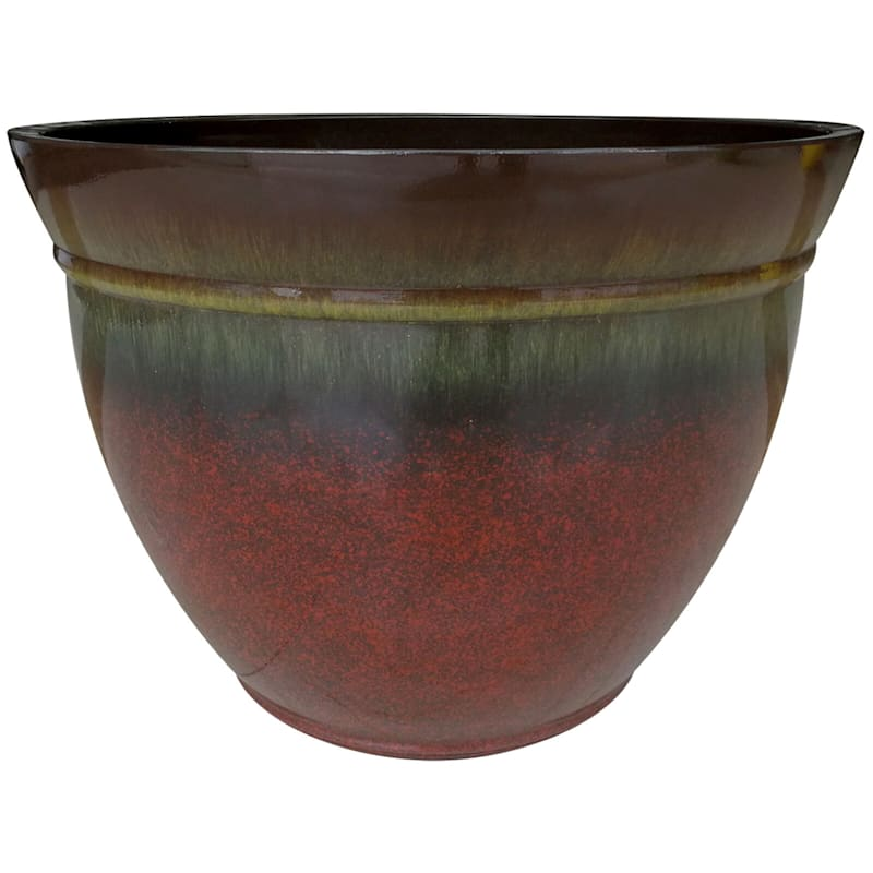 22.5in. Resin Kittredge Spanish Peak Planter